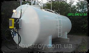 Контейнерная мини АЗС для топлива двухстепенный 5000 л