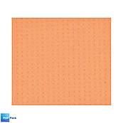 Салфетка влаговпитывающая армированная 16х16 см, оранжевая, SUPER LUXE, 1 шт
