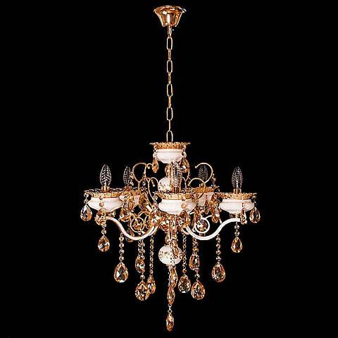 Люстра «Рамона 5» золото DS-12852-5FG