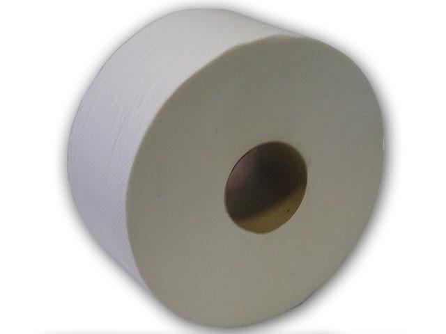 Туалетная бумага Eco Optimum ТМ Pro Service для диспенсеров Джамбо серая макулатурная однослойная 16 шт/уп - фото 2