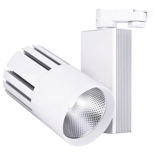 Трековый светодиодный светильник Feron AL105 40w 4000К белый