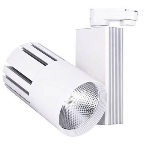 Трековый светодиодный светильник Feron AL105 40w 4000К белый, фото 2