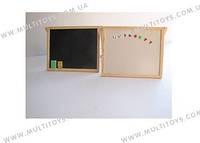 Доска меловая магнитная маркер код: DM_А-А13