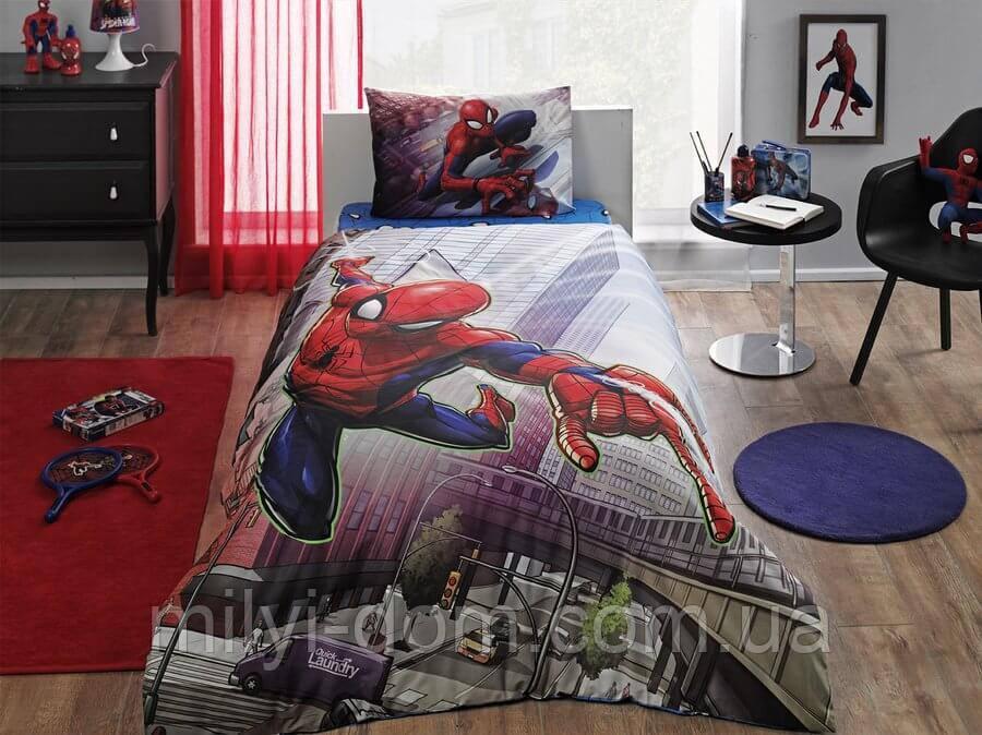 """Набор детского постельного белья TAC Spiderman Action """"Спайдермен"""""""