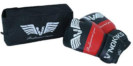 Боксерские перчатки V`Noks Potente Red 12 ун., фото 2