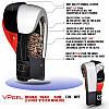 Боксерские перчатки V`Noks Potente Red 12 ун., фото 6