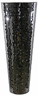 Ваза Мозаика черная d30(19)h81cm