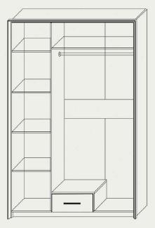 Шкаф трехдверный Скарлет , фото 2