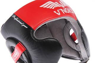 Боксерский шлем V`Noks Potente Red L, фото 2