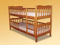 Кровать двухярусная Рукавичка