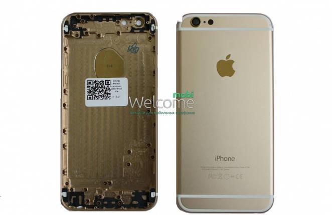 Задня кришка iPhone 6 gold without imei, змінна панель айфон, фото 2