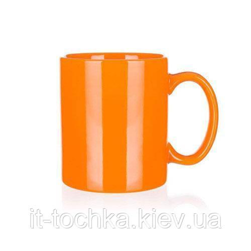 Керамическая чашка banquet 60210107 розовая на 350 мл