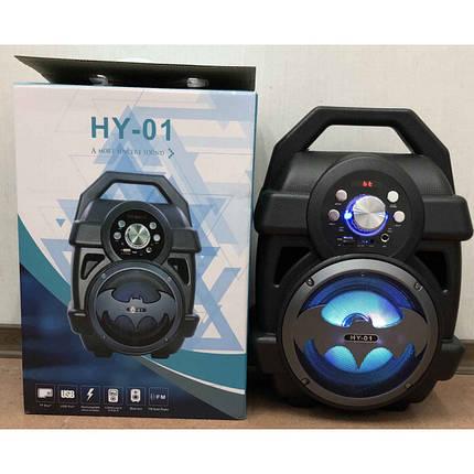 Портативная Колонка HY-01, HY-02 Bluetooth. 37× 25 ×19, фото 2