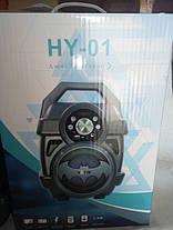 Портативная Колонка HY-01, HY-02 Bluetooth. 37× 25 ×19, фото 3