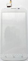Тачскрин (сенсор) для Huawei Y600-U20 Dual Sim, белый