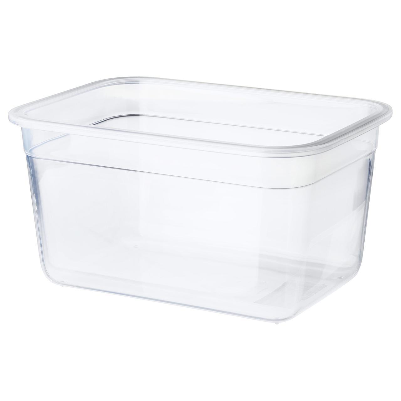 """IKEA """"ИКЕА/365+"""" Контейнер для продуктов, прямоугольн формы, пластик, 2 л"""