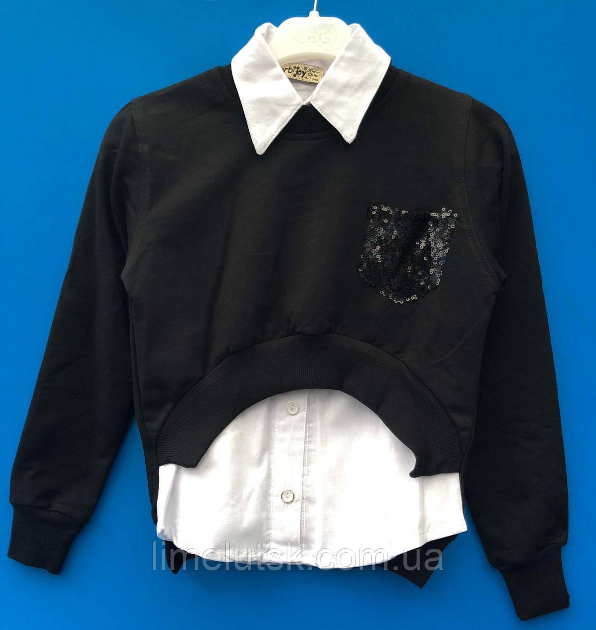 591d5df308a Модный комплект с белой рубашой для девочки 11-14 лет  продажа