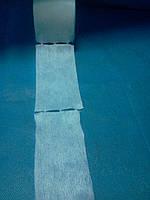 Салфетки безворсовые  спанлейс гладкие в рулоне 5*10 см 100 шт