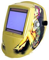 Маска сварщика VITA WH 9801 с девушкой (WH-0015)
