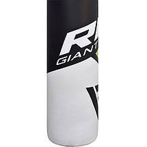 Боксерский мешок RDX Rex Leather Green 1.5 м, 45-55 кг, фото 3