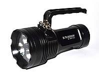 Мощный светодиодный фонарь Bailong BL-D803 3хТ6, фото 1