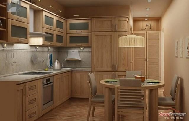 кухня старое дерево