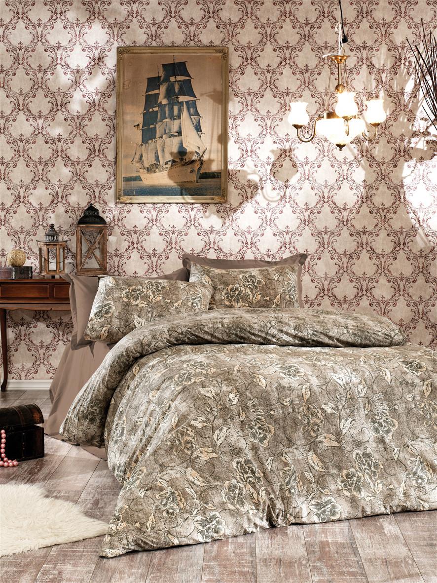 Комплект постельного белья Moorvin Премиум Компаньон Семейный 240х240 (RTT_D15_0399_K)