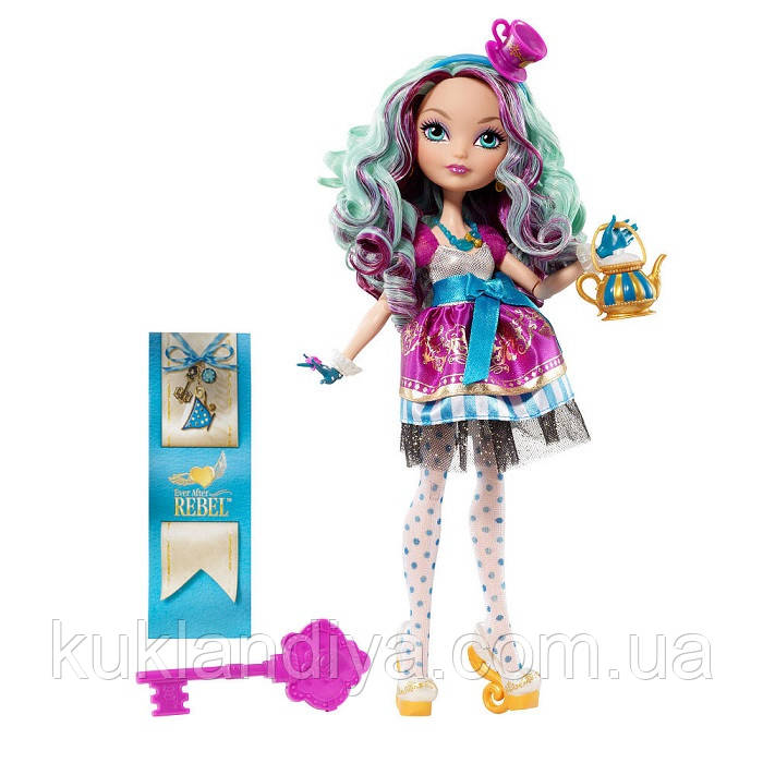 Кукла Ever After High Madeline Hatter Мэдлин Хэттер Базовая