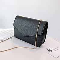 Черная сумка, кроссбоди, фото 1