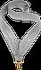 Лента для медали Золотая 22мм., фото 2