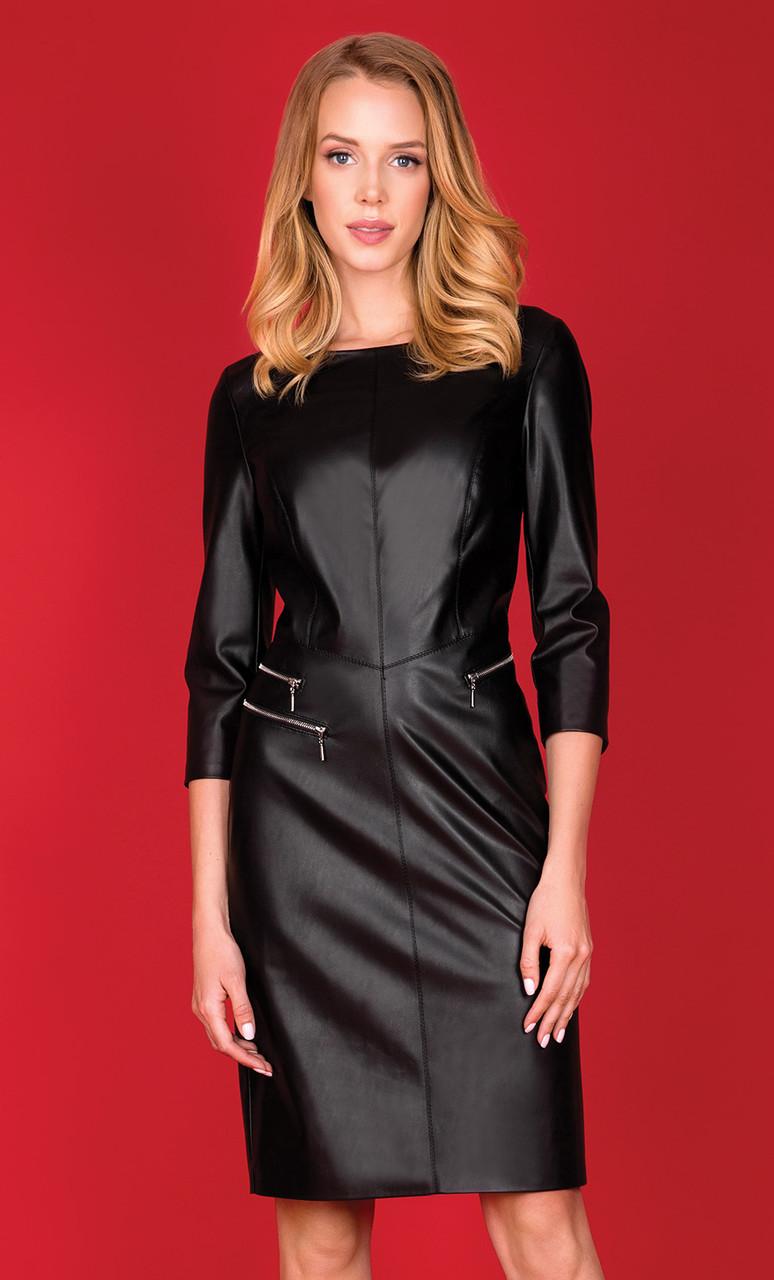 0230c4ecdaa Женское платье Bosa Zaps черного цвета. Коллекция осень-зима 2018-2019 -  Irse