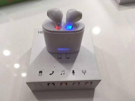 Беспроводные наушники HBQ i7 с боксом для зарядки, фото 2