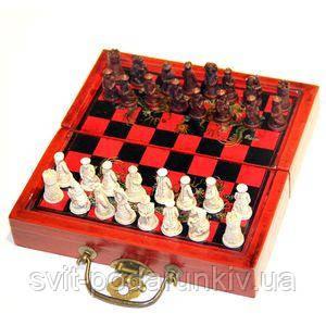 Подарочные шахматы - фото