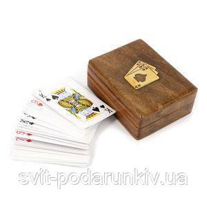 Атласные игральные карты - фото