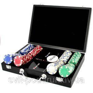 Покерный набор на 200 фишек - фото