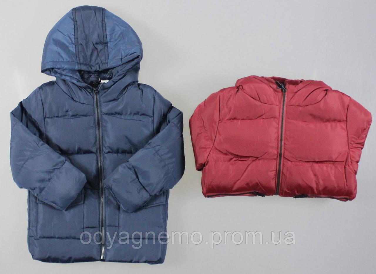 Куртка на меху для мальчиков F&D оптом, 1-5 лет.