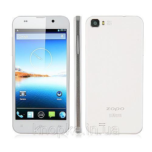 Cмартфон Zopo C2 Platinum MTK6589T TURBO Quad Core Android 4.2 (White) - Интернет-магазин «Лимон» г.Каменец-Подольский в Каменце-Подольском