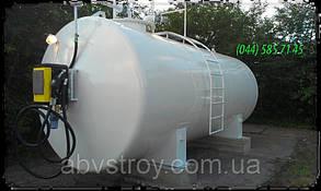 Контейнерная мини АЗС для топлива двухтенный 25000 литров