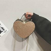 Золотая сумка Сердечко, фото 1