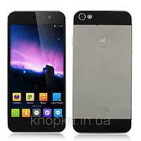 Cмартфон Jiayu G5 TURBO MTK6589T Quad Core Android 4.2 (Silver)★1GB RAM★4GB ROM