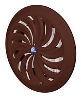 Вентиляционная решётка круглая с жалюзи Awenta T88-(копия) 100-150мм
