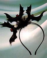 """Обруч """"Летучие мыши -3 на Хэллоуин ."""", фото 1"""