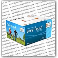 Шприцы инсулиновые Easy Touch U-100 1мл*8мм, (100 шт.)