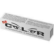 COLOR Краска для бровей и ресниц (графит) 15 мл