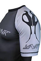 Рашгард с коротким рукавом VNK Scath Grey L, фото 3