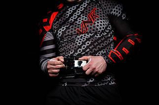 Рашгард с длинным рукавом VNK Contact Red XL, фото 3