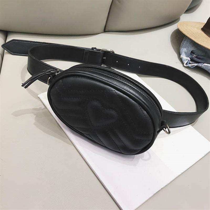 Поясная сумка, бананка Черный