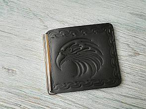 Зажим для купюр черный орел, фото 2
