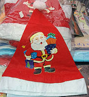 Новогодняя Шапка Деда Мороза Шапка Санта Клауса с Подарками Упаковка 12 шт