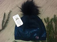 Зимняя шапка на флисе для девочек пр-ль Польша(размер 52-56), фото 1
